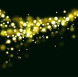 Предпосылка золота абстрактная Стоковые Фото