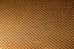 Предпосылка золота текстурировала Стоковые Изображения