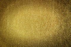 Предпосылка золота Стоковое Изображение