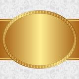 предпосылка золотистая иллюстрация штока