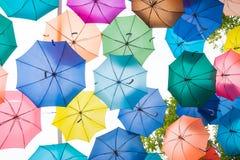 предпосылка зонтика цвета Стоковые Изображения RF