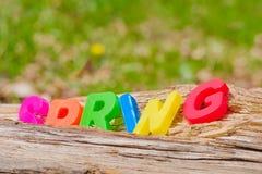 Предпосылка идеи концепции весеннего времени весны, био экологическо стоковое фото
