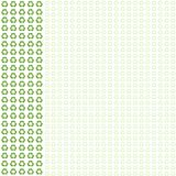 предпосылка идет зеленый цвет рециркулирует Стоковые Фотографии RF