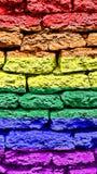 Предпосылка или обои цвета радуги Стоковые Фотографии RF