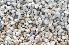 Предпосылка или текстура гравия каменные Стоковое Фото