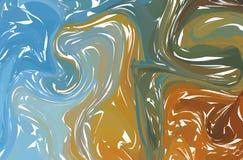 Предпосылка или overlay текстура светлого мрамора в тенях пастели Вектор Eps10 Жидкая красочная предпосылка форм иллюстрация штока