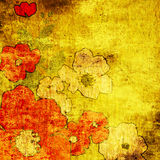 предпосылка искусства флористическая Стоковое Изображение RF
