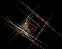 Предпосылка искусства фрактали для творческого дизайна стоковое фото rf