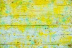 Предпосылка и обои или текстура деревянной доски или таблицы деревянных вполне цветов от продукции искусства Стоковая Фотография