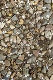 Предпосылка и текстура каменистого грунта стоковые изображения