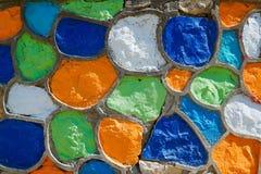 Предпосылка каменной стены абстрактного Grunge пестротканая стоковые изображения