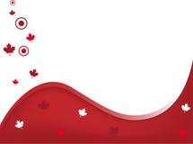 предпосылка Канада волнистая Стоковое Изображение RF