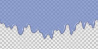 Предпосылка капания воды иллюстрация вектора