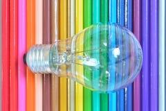 Предпосылка карандаша цвета Стоковое Фото