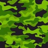 Предпосылка картины зеленого камуфлирования безшовная Печать повторения camo классического стиля одежды маскируя Зеленый цвет, из Стоковые Изображения