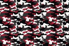 Предпосылка картины камуфлирования горизонтального знамени безшовная Печать повторения camo классического стиля одежды маскируя К иллюстрация вектора