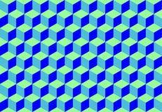 Предпосылка картины кубиков иллюстрация вектора