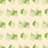 Предпосылка картины органического диетического продукта природы ярлыка значка трактора логотипа ресторана eco еды vegan здорового Стоковое фото RF