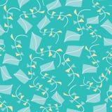 Предпосылка картины текстуры змеев безшовная Иллюстрация летая вектора змеев для ткани, обоев, scrapbooking проектов иллюстрация вектора