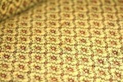Предпосылка картины ткани антиквариатов флористическая Стоковое фото RF