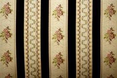 Предпосылка картины ткани антиквариатов флористическая Стоковое Изображение RF