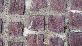 Предпосылка кирпича пола коричневая Стоковая Фотография