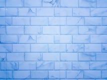 Предпосылка кирпичной стены с сделанный по образцу Стоковое Изображение RF