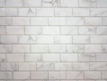 Предпосылка кирпичной стены с сделанный по образцу Стоковые Фотографии RF