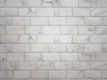 Предпосылка кирпичной стены с сделанный по образцу Стоковое Изображение