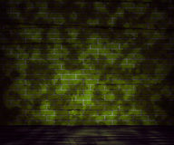 Предпосылка кирпичной стены Grunge Стоковое фото RF