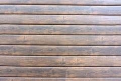 Предпосылка комнаты коричневых старых естественных деревянных планок темной достигшей возраста пустой сельской с поверхностью взг стоковые изображения