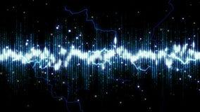 Предпосылка конспекта анимации спектра electro иллюстрация вектора