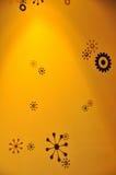 предпосылка конструирует желтый цвет звезды Стоковые Изображения