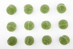 Предпосылка конфеты мармелада кивиа белая никто стоковая фотография