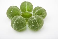 Предпосылка конфеты мармелада кивиа белая никто стоковые изображения