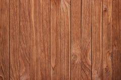 Предпосылка коричневых старых естественных деревянных планок текстуры Стоковая Фотография