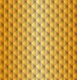 Предпосылка косоугольника картины формы золота геометрическая Стоковая Фотография