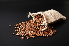 Предпосылка кофейных зерен Стоковое Изображение RF
