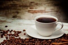 предпосылка кофе Стоковые Изображения