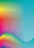 предпосылка красит радугу Стоковые Фотографии RF