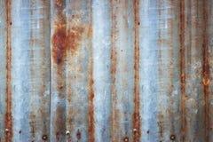 Предпосылка краски шелушения и ржавого старого металла textu стены цинка стоковое изображение rf