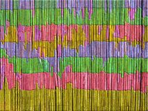 Предпосылка, красочная загородка, от тростника стоковое фото rf