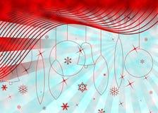 Предпосылка Кристмас иллюстрация вектора