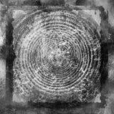 Предпосылка круга Grunge Стоковое фото RF