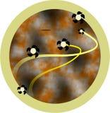 предпосылка круглая Стоковое фото RF