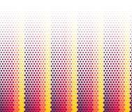 Предпосылка кругов цвета различных размеров на белом поле стоковая фотография rf