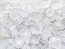 Предпосылка куба льда стоковое изображение