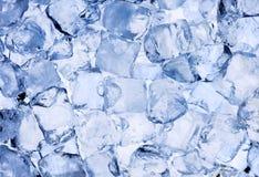 Предпосылка кубиков льда Стоковые Фото