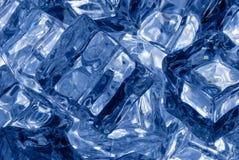 Предпосылка кубов льда Стоковое Изображение