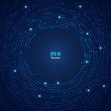 Предпосылка лабиринта круга Стоковые Изображения RF